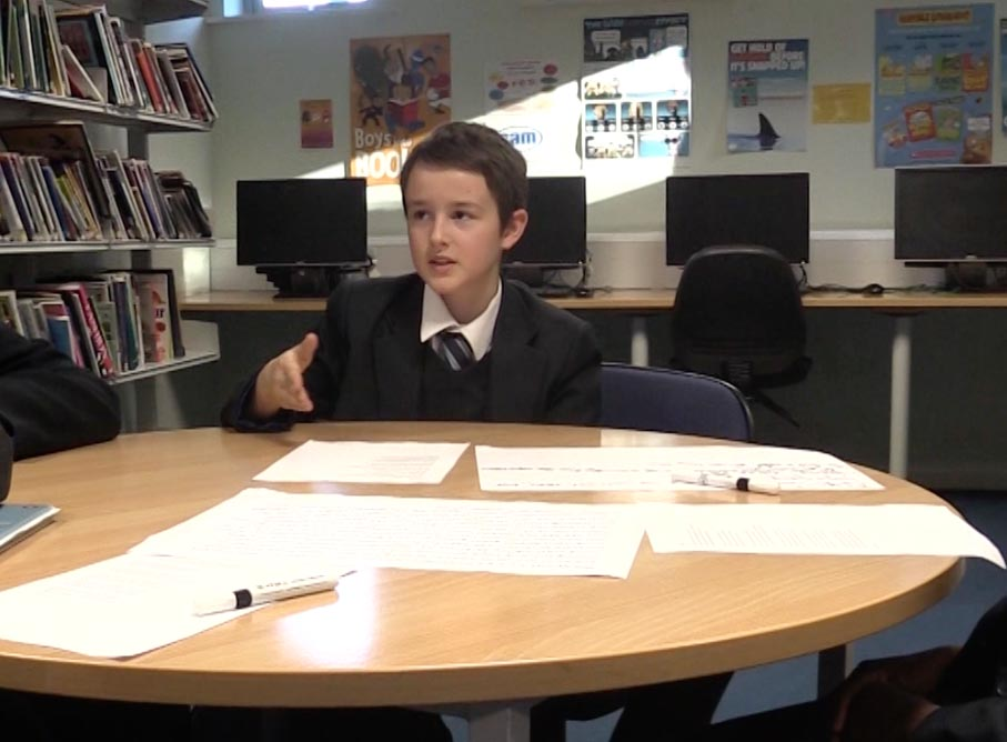 main image for blog post 'Exploratory talk, exploratory writing and pupil progress at KS3'