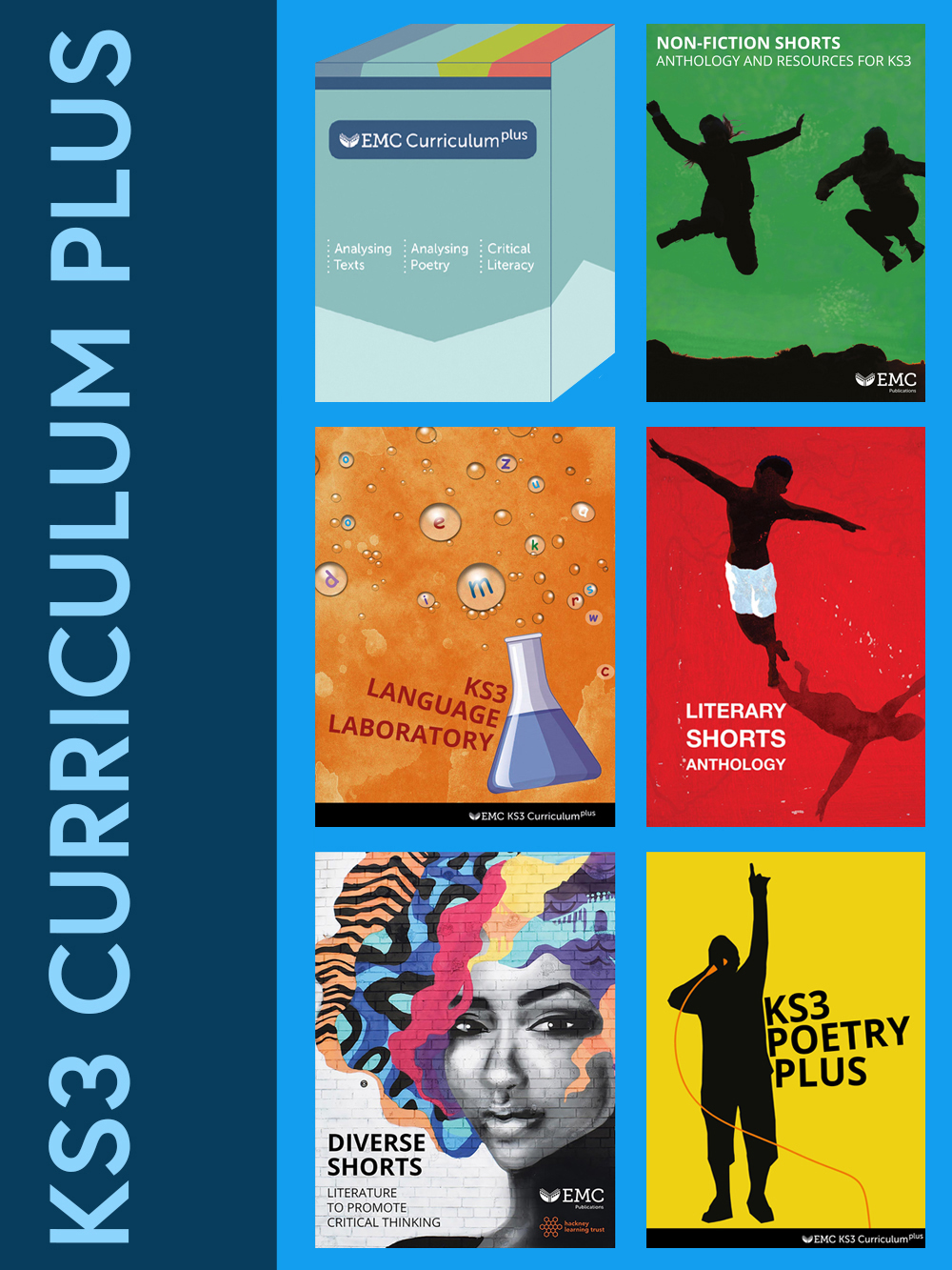 Cover image for EMC KS3 Curriculum Plus Package – Planning Resources on USB