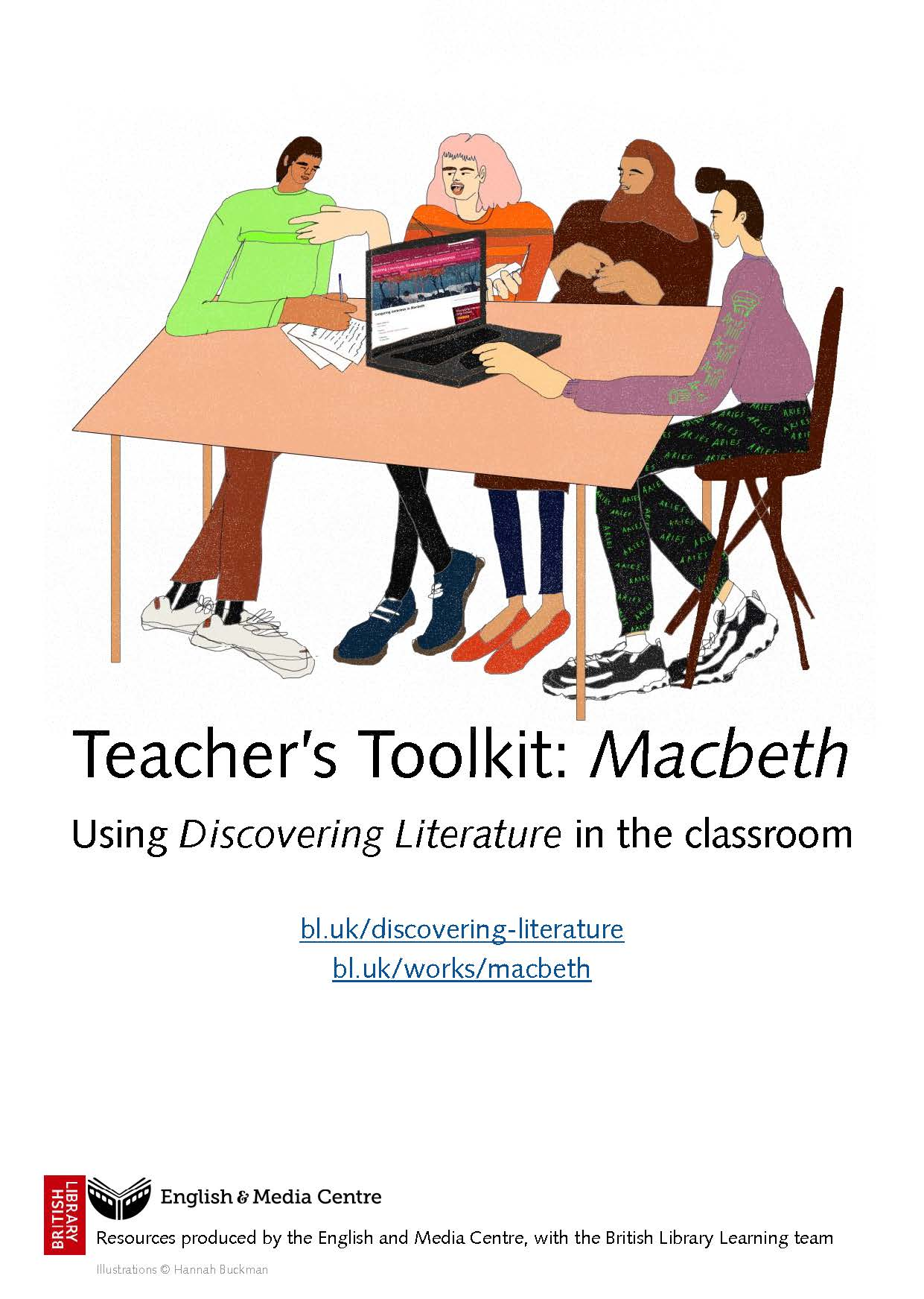 Cover image for Discovering Literature – Macbeth (Download) [EMC-Free]