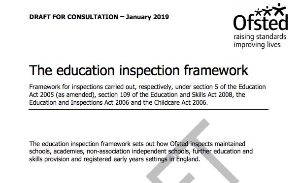 main image for blog post 'EMC Response to Draft Ofsted Framework and Guidance Materials'