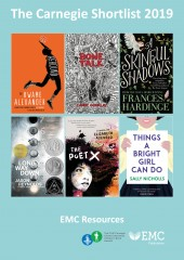 The Carnegie Medal Award Shortlist 2019 – Free EMC Resources (Download) [EMC-Free] cover image