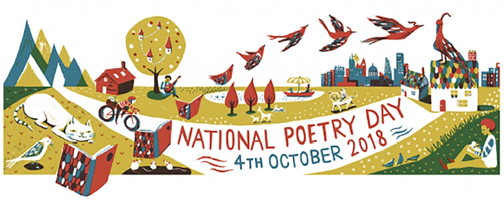 Main image for EMC Activities for National Poetry Day 4th October 2018 – Change page