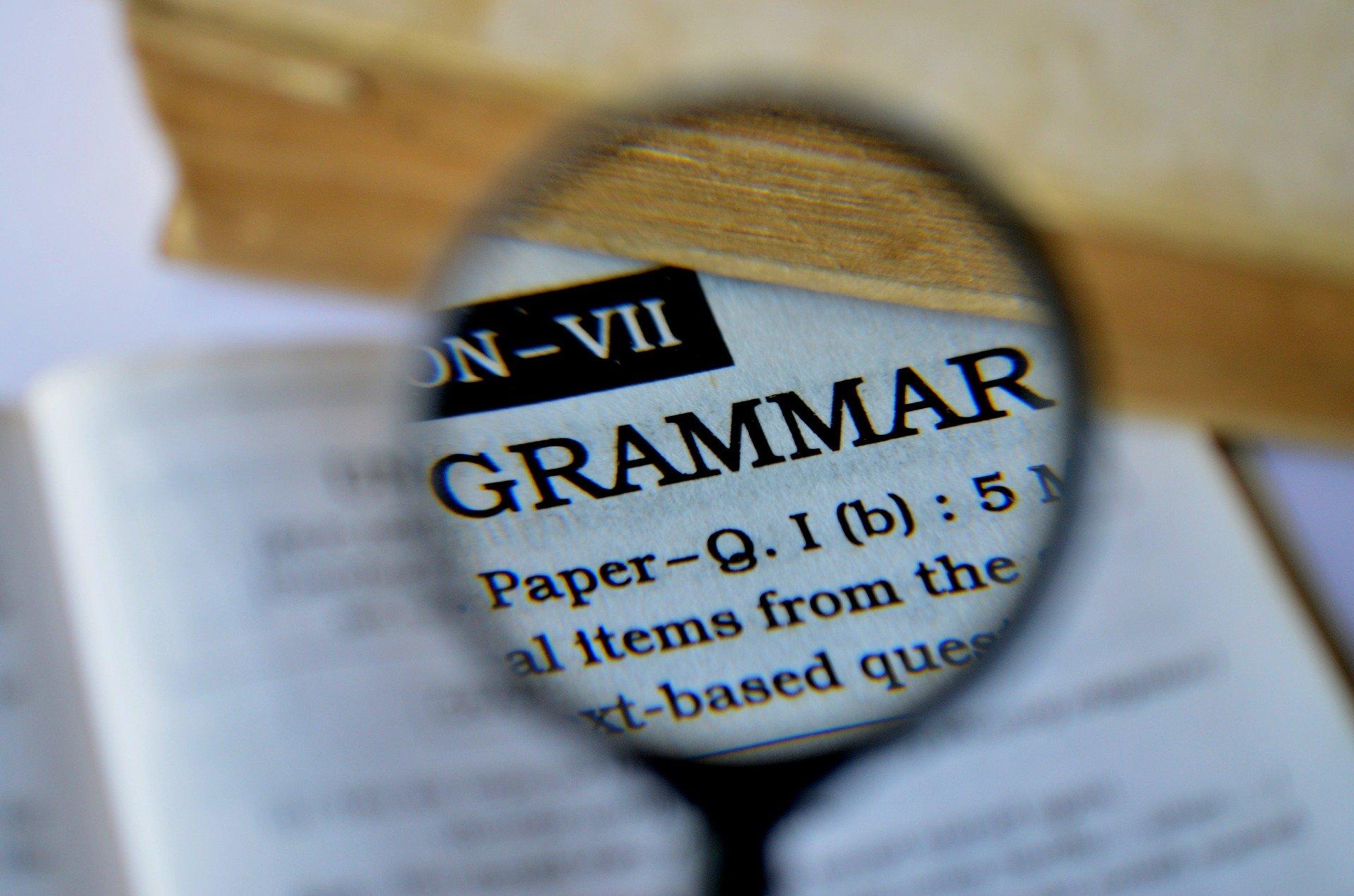 main image for blog post 'We want good grammar teaching!'