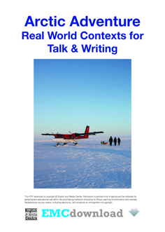 Cover image for Arctic Adventure – Real World Contexts for Talk & Writing (Download)