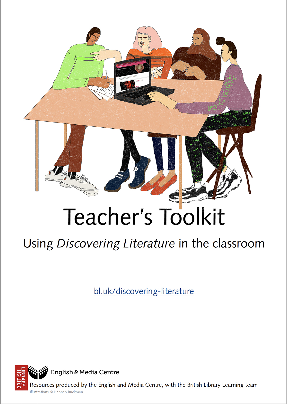 Cover image for Discovering Literature – Teachers' Toolkit (Download) [EMC-Free]