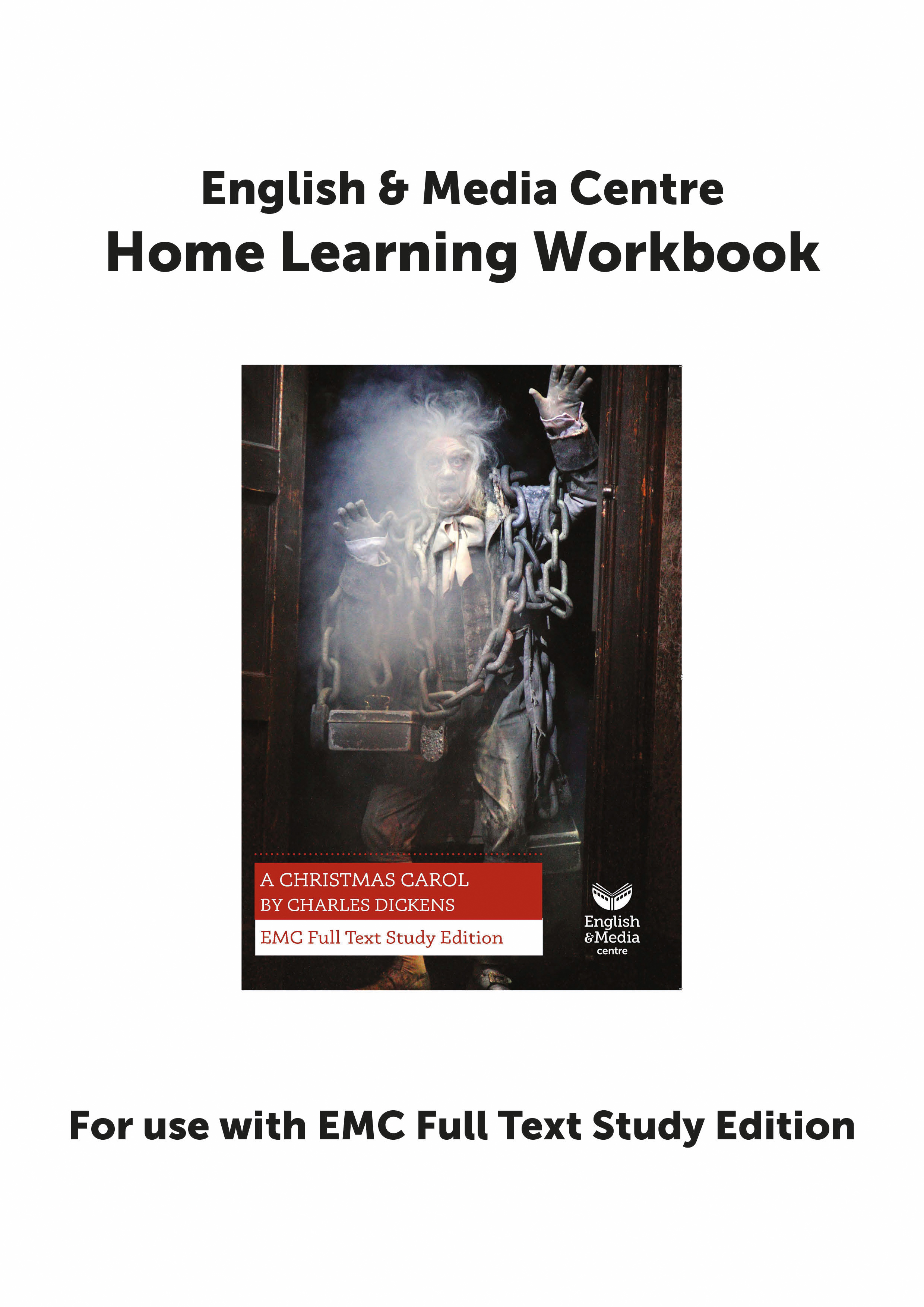 Cover image for Home Learning Workbook – A Christmas Carol