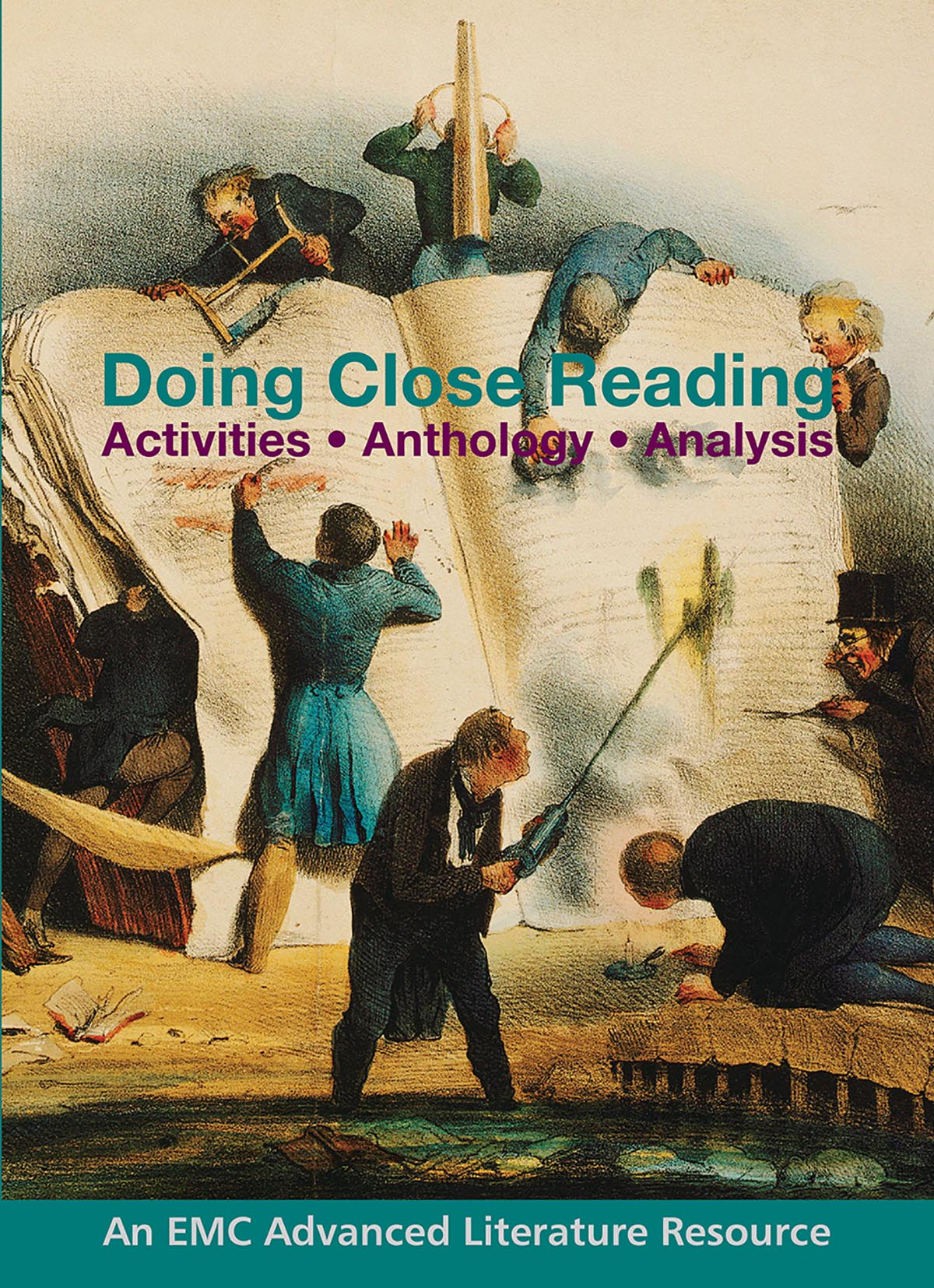 Cover image for Doing Close Reading (Print) – EMC SALE 2020 – 40% off