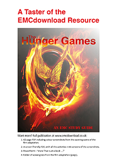 Cover image for Free! A Taster of EMC's The Hunger Games Download