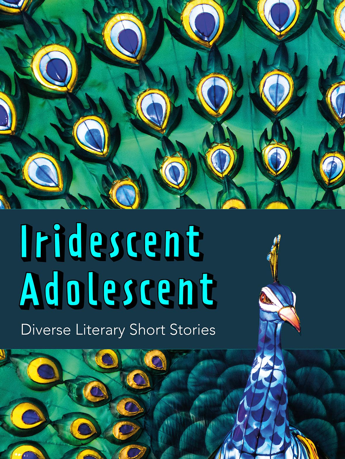 Cover image for Iridescent Adolescent – Diverse Literary Short Stories (Print)