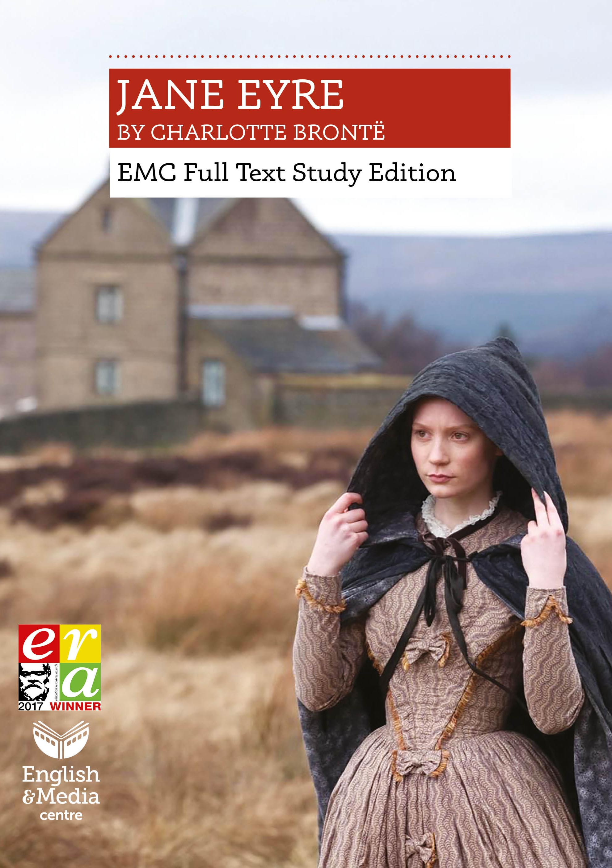 Cover image for Jane Eyre: EMC Full Text Study Edition (Print)
