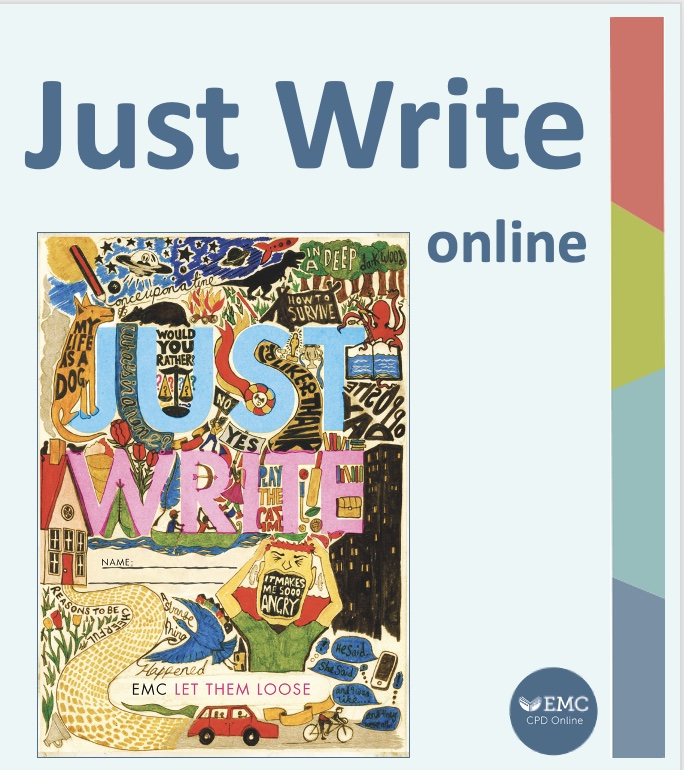Cover image for Just Write – Remote Learning Package [EMC_Free]
