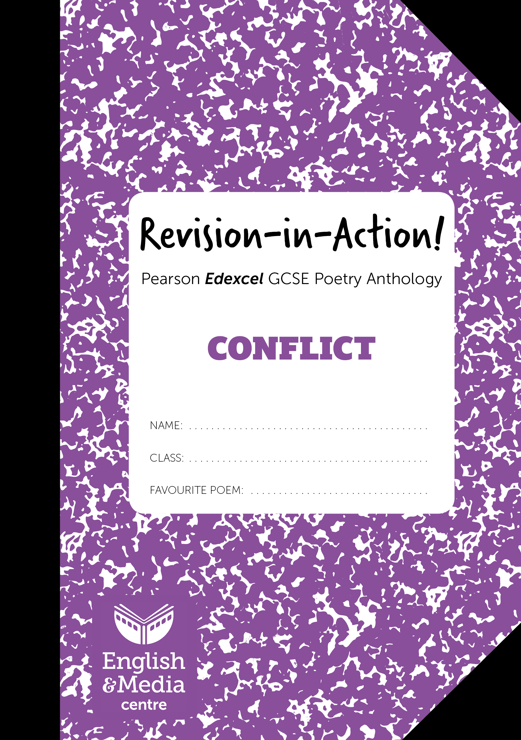 Cover image for Revision-in-Action – Edexcel Conflict  (6+ sets of 10 workbooks = £1 per copy)