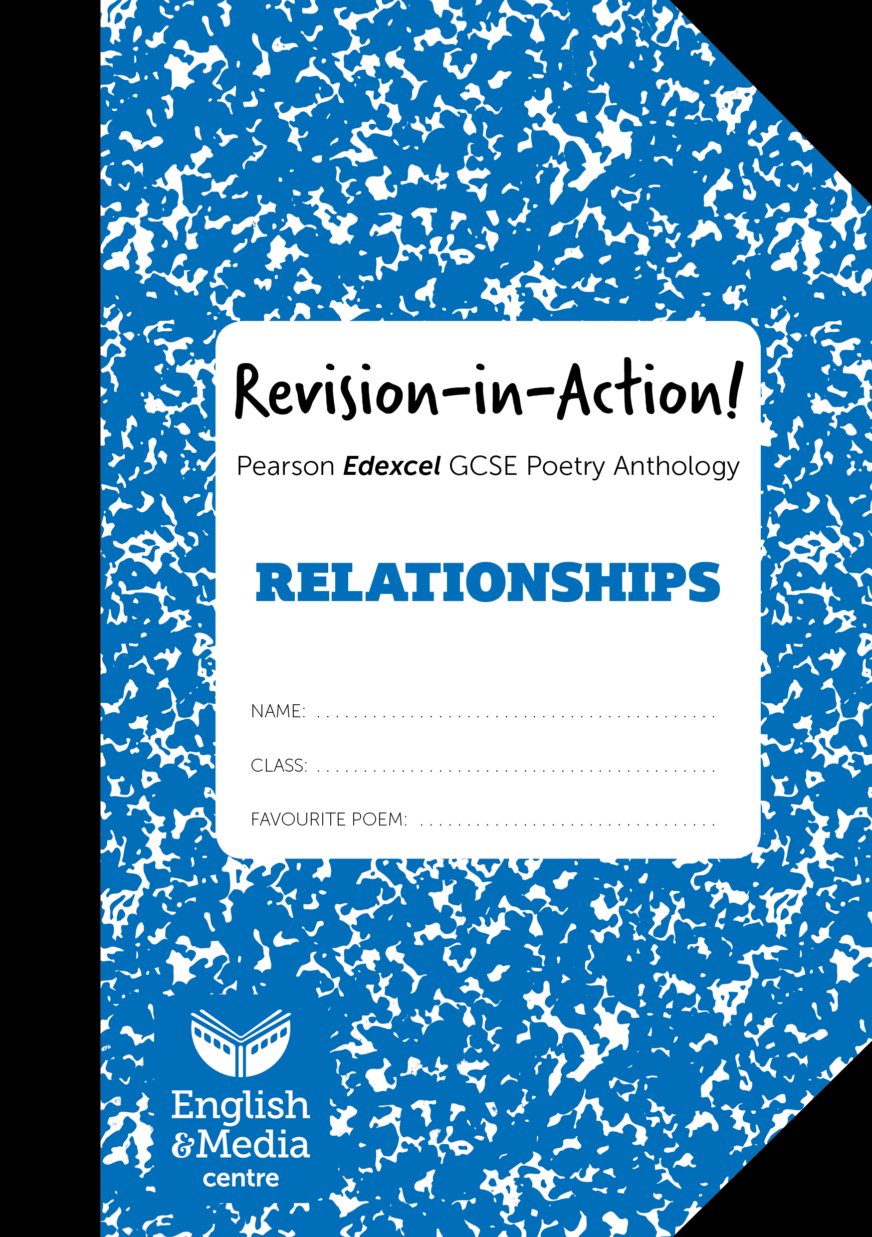 Cover image for Revision-in-Action – Edexcel Relationships (6+ sets of 10 workbooks = £1 per copy)