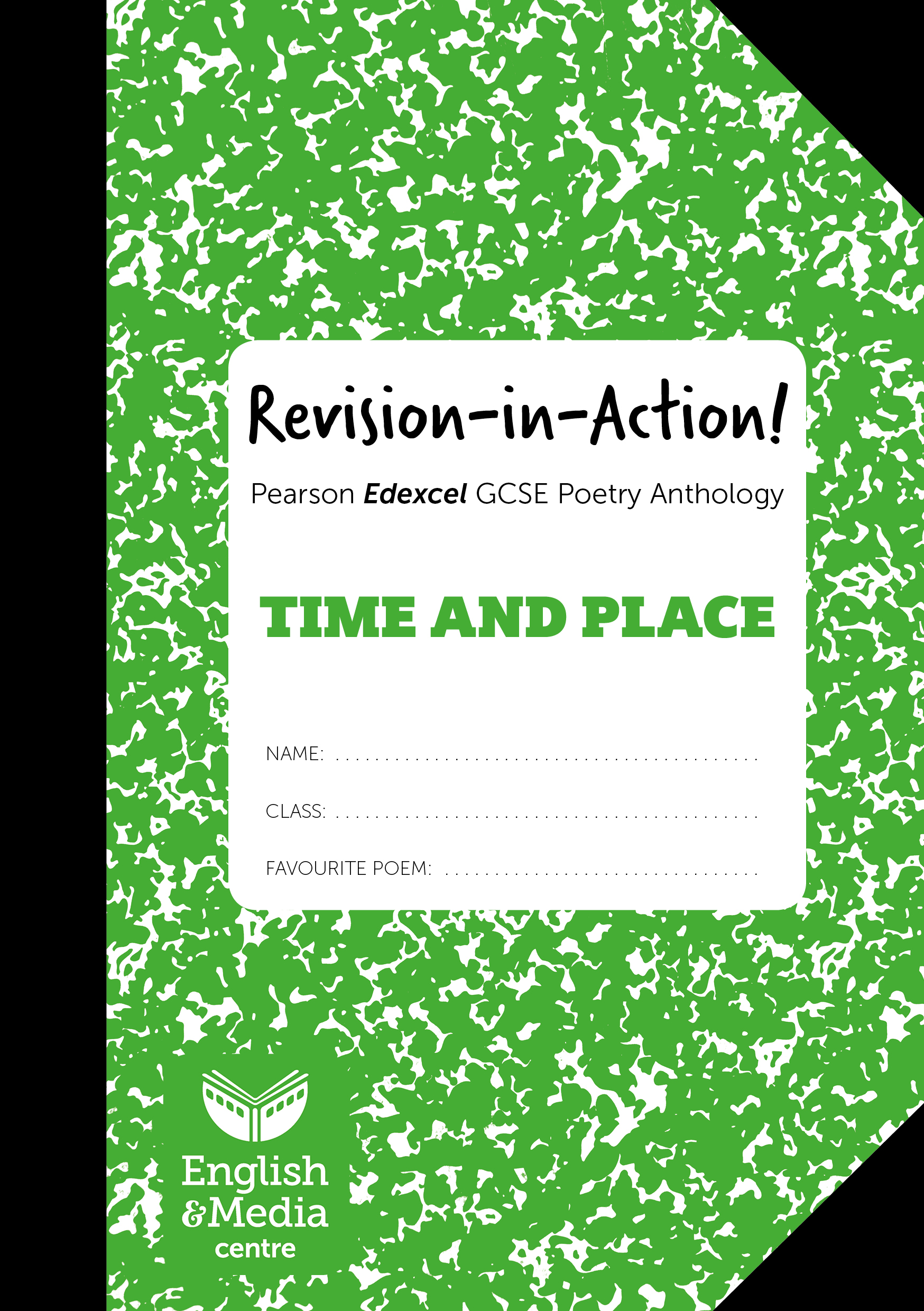 Cover image for Revision-in-Action – Edexcel Time & Place (6+ sets of 10 workbooks = £1 per copy)