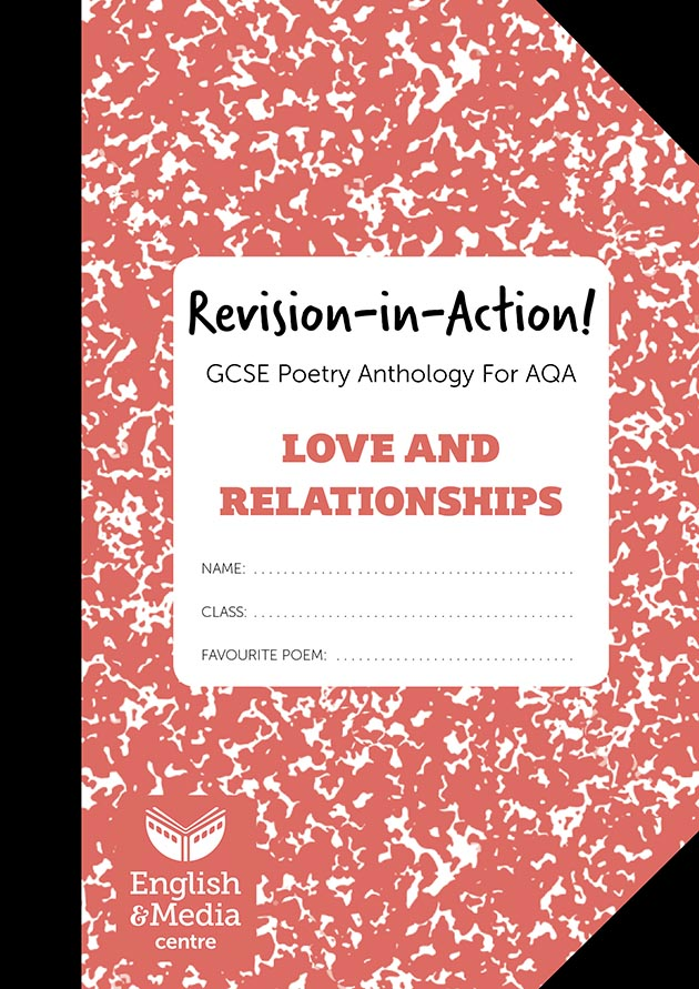 Cover image for Revision-in-Action – AQA Love & Relationships (6+ sets of 10 workbooks = £1 per copy)