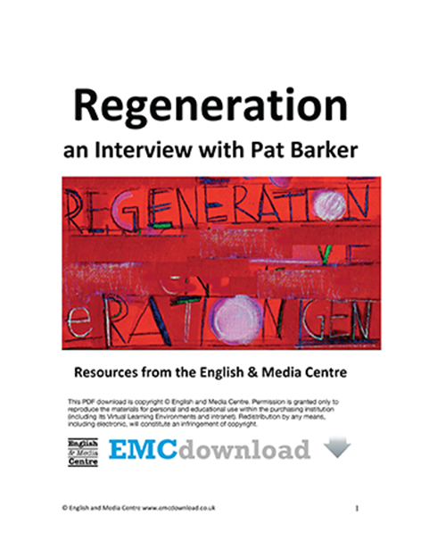 Cover image for Regeneration – EMC Interviews Pat Barker (Download)
