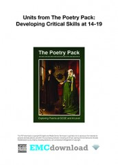 cover image for The Poetry Pack – Critical Skills (Download)