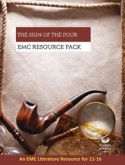 cover image for The Sign of the Four: EMC Resource Pack (Print)