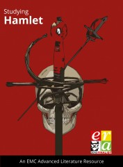cover image for Studying Hamlet – EMC Advanced Literature Series Shakespeare (Print)
