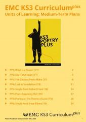 KS3 PoetryPlus – Medium Term Planning (EMC_Free) (Download) cover image