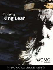 cover image for Studying King Lear – EMC Advanced Literature Series (Print)