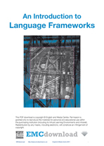 cover image for Language  Frameworks (Download)