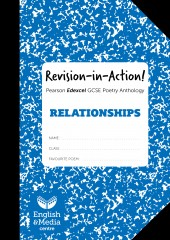 Revision-in-Action – Edexcel Relationships  – 20% SALE (SALE: 6+ sets of 10 workbooks = 80p per copy cover image