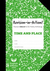 Revision-in-Action – Edexcel Time & Place – 20% SALE (SALE: 6+ sets of 10 workbooks = 80p per copy) cover image