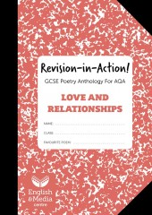 Revision-in-Action – AQA Love & Relationships  – 20% SALE (SALE: 6+ sets of 10 workbooks = 80p per c cover image