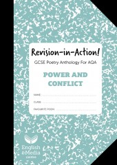 Revision-in-Action – AQA Power & Conflict  – 20% SALE (SALE: 6+ sets of 10 workbooks = 80p per copy) cover image