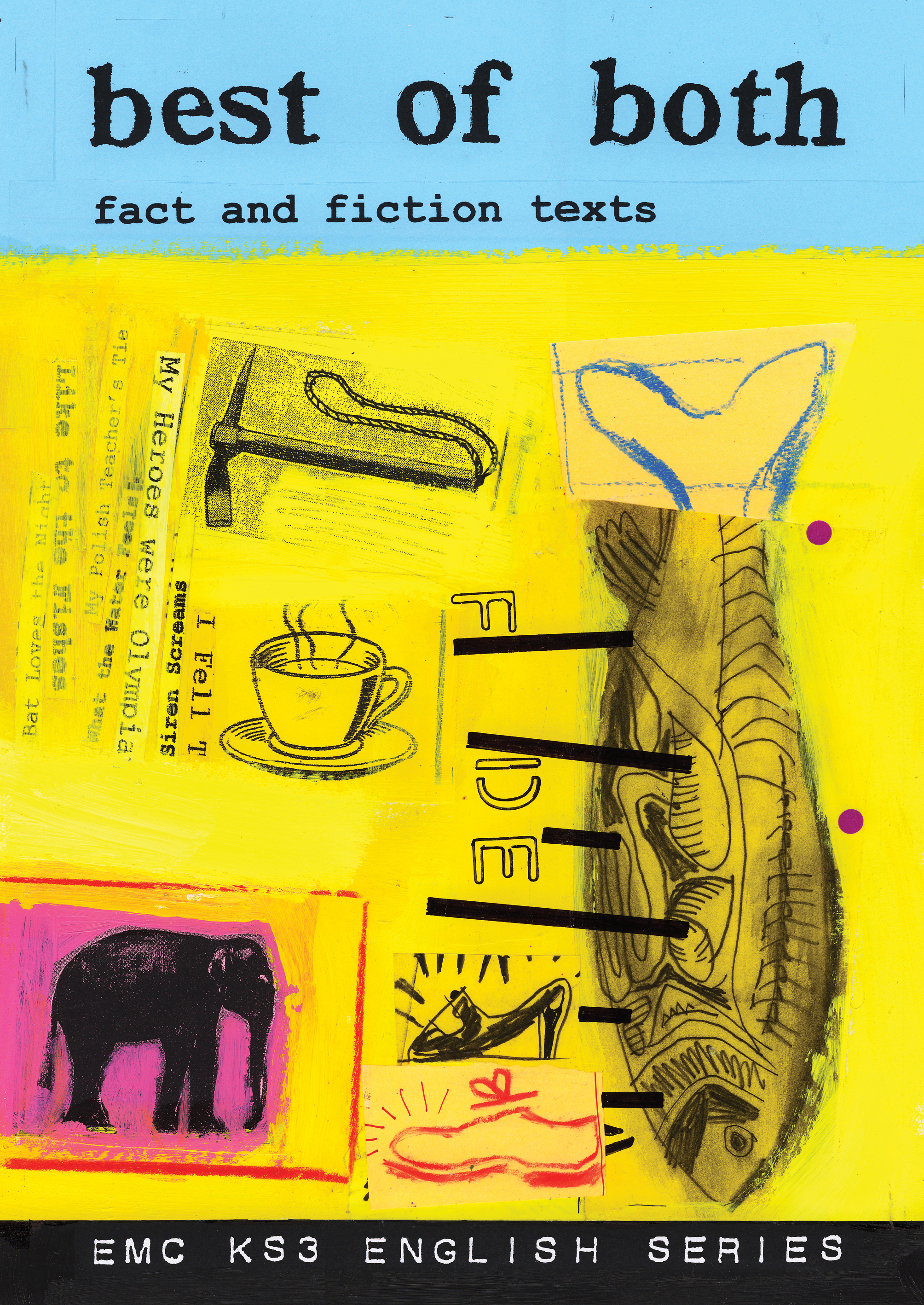 Cover image for Best of Both: Fact and Fiction Texts (Print)