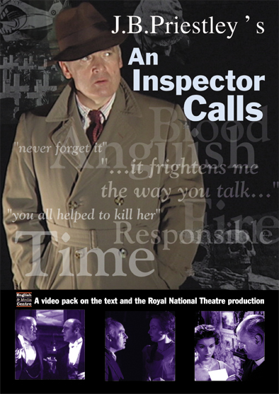 Cover image for An Inspector Calls Study Guide (Print)