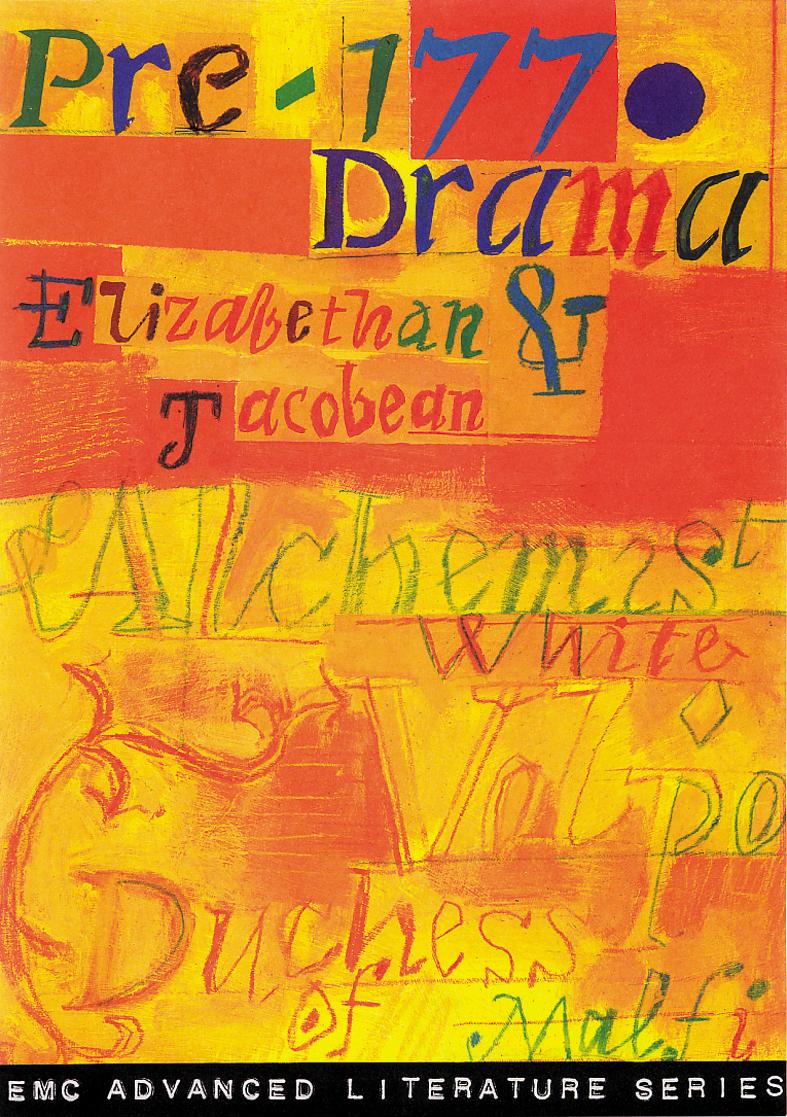 Cover image for Pre-1770 Drama: Elizabethan & Jacobean (Print)