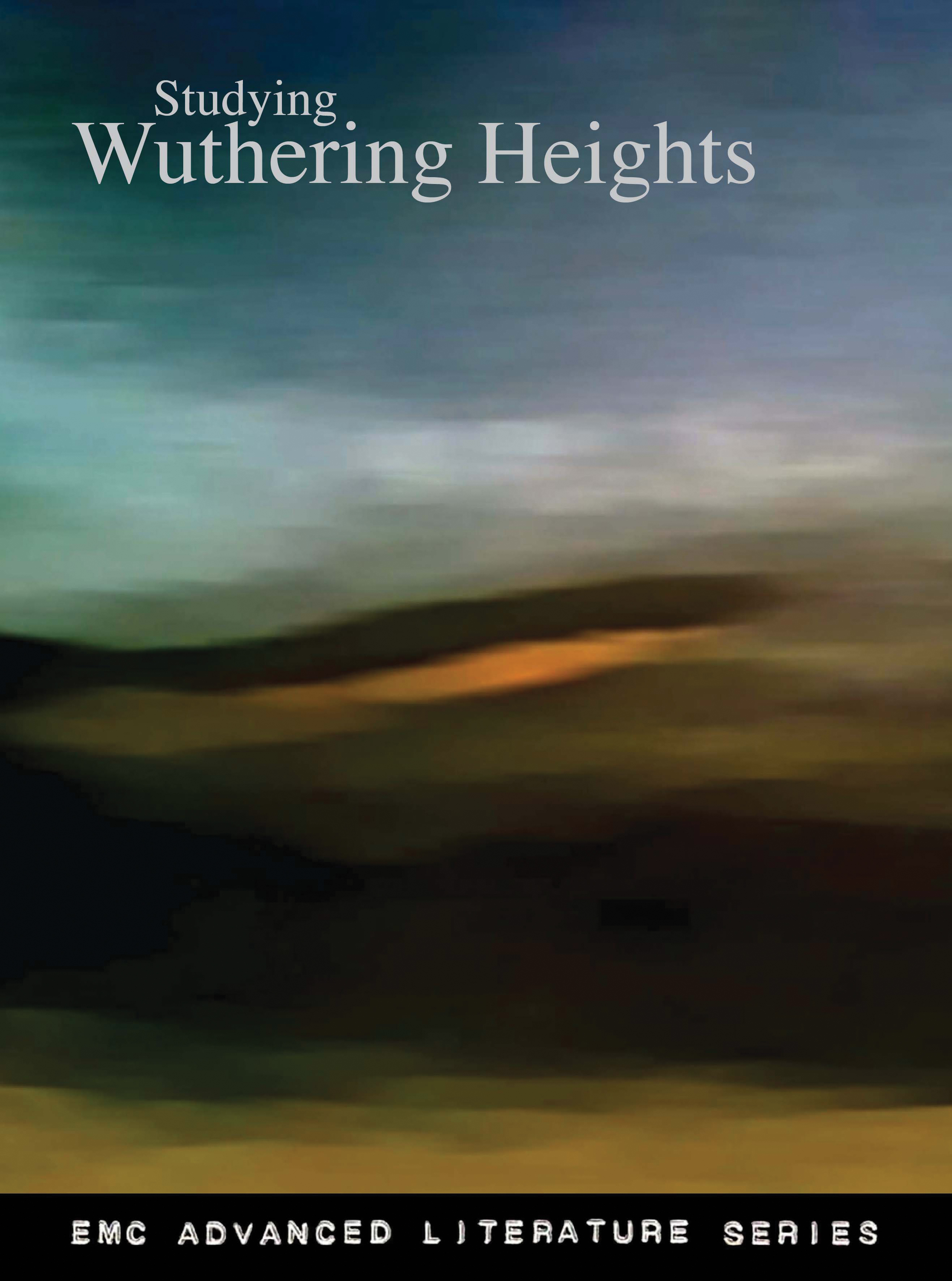 Cover image for Studying Wuthering Heights (Print)