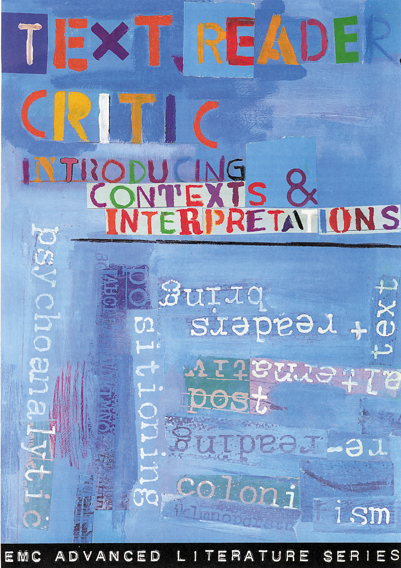 Cover image for Text Reader Critic (Print)